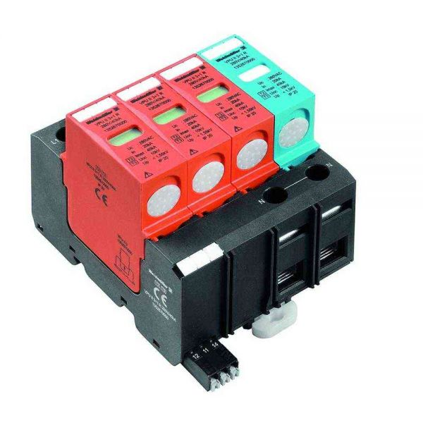 Blitzstromableiter TN+TT+ 3+N/PE 230VAC 1,55kV