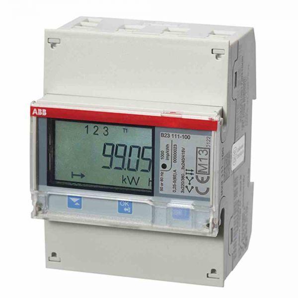 Messwandlerzähler 3x6A elektr digi geeicht B 1A