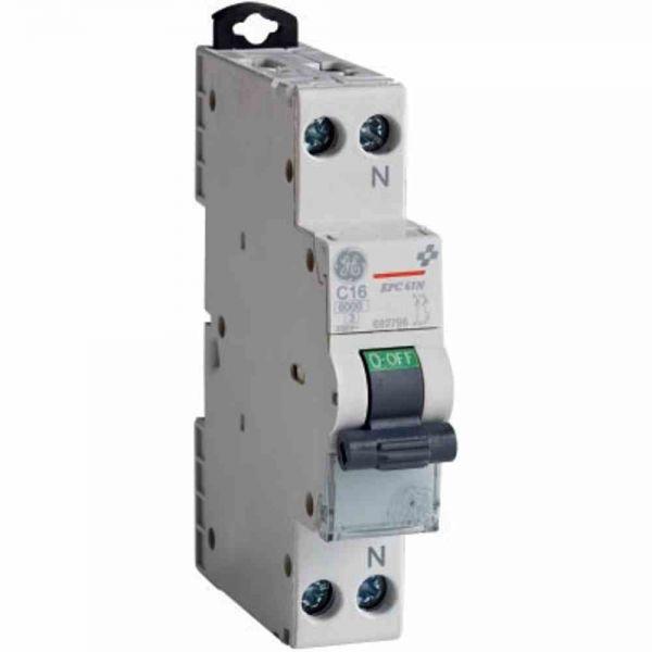 Leitungsschutzschalter B 16A 1+N 230V 6kA 1TE AC