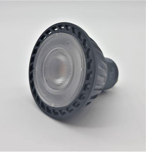 SLV LED GU10 Leuchtmittel, 5,1cm Ø, 4,3 Watt, 2700 Kelvin (warmweiß), 245 Lumen Lichtstrom, nicht di