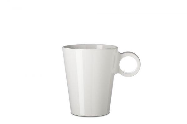 Mepal Henkelbecher Flow 300 ml Weiß