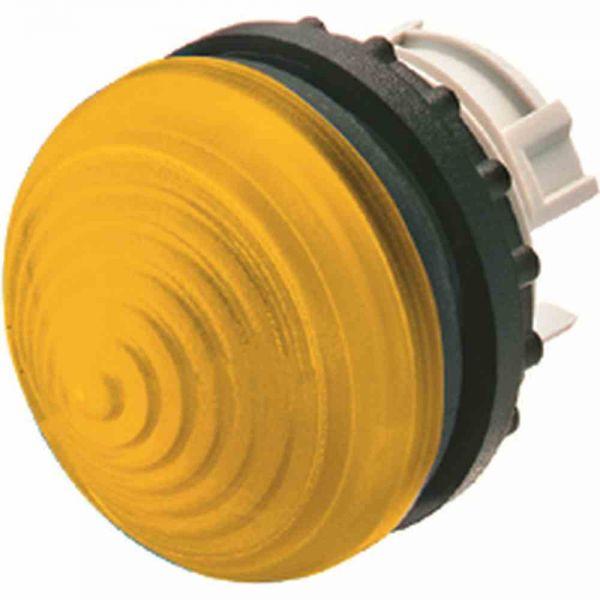 Leuchtmelder Front hoch rnd ge Ø22,5mm 22x6mm