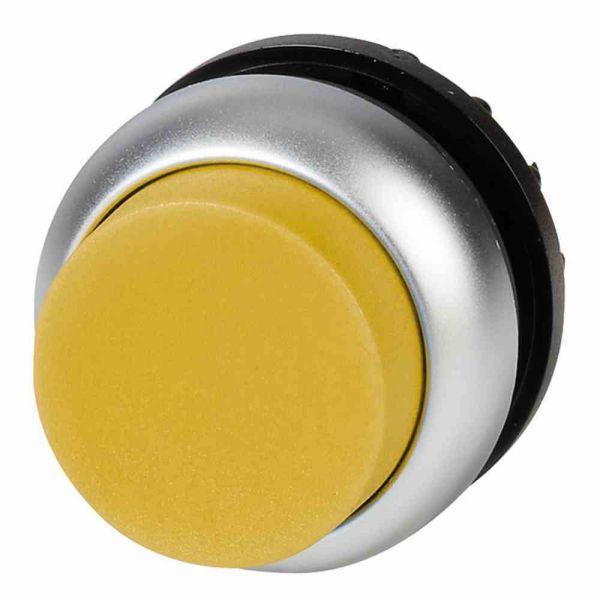 Leuchtdrucktaster Front1f ge beleuchtb Ø22,5mm rnd