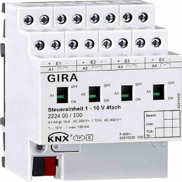 Lichtsteuergerät KNX KNX REG 4TE DALI 3Ausg