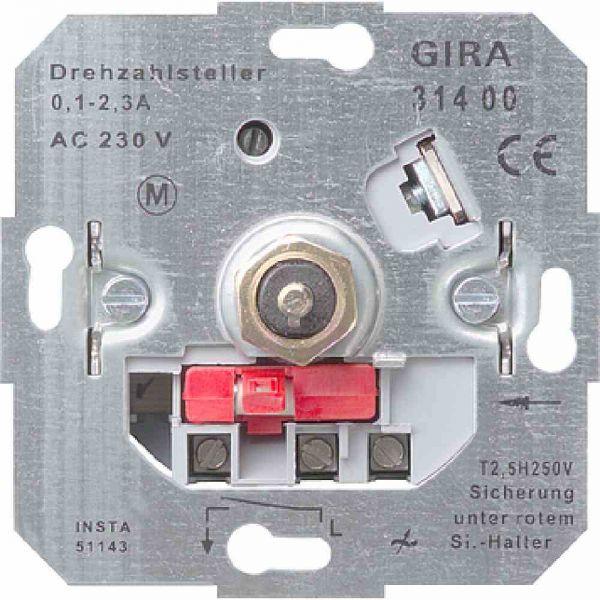 Drehzahlsteller UP 0,1-2,7A 230V 1ph stufenl