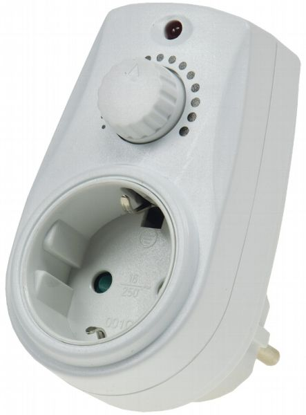 Steckdosen-Dimmer 20-280 Watt IP20, 230V
