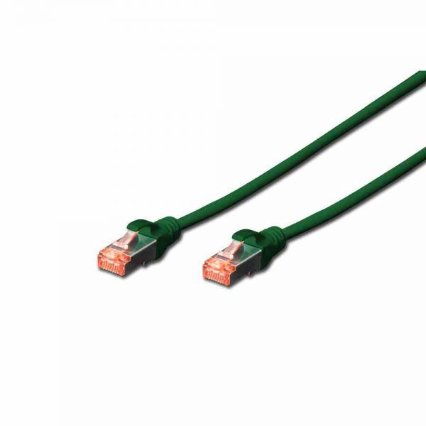 CAT 6 Patchk. grün 5,0m S-FTP, LSOH, AWG 27/7