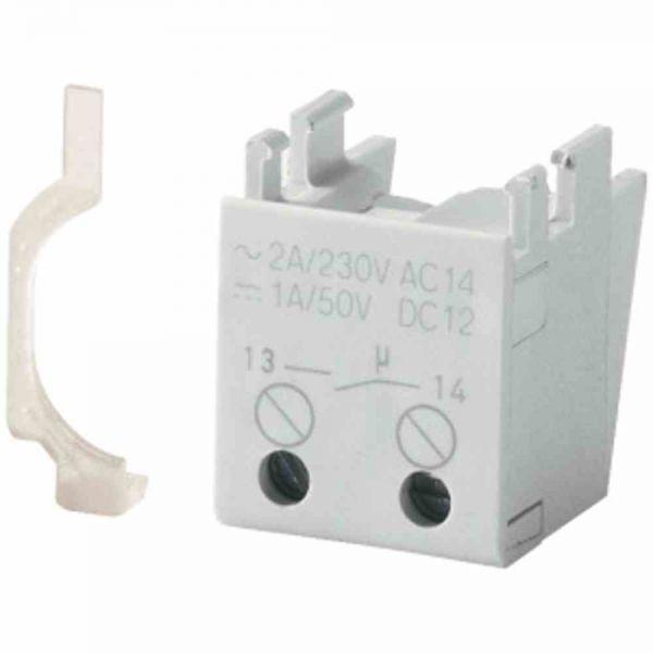 Hilfsschalterblock 1Ö integr 2A/AC Schraub