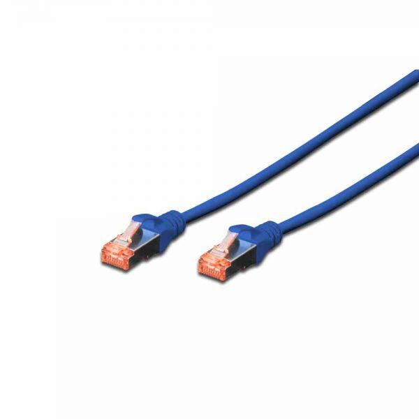 CAT 6 Patchk. blau 2,0m S-FTP, LSOH, AWG 27/7