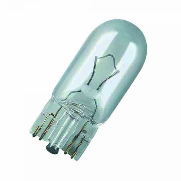 Fahrzeuglampe 5W 12V W5W W2,1x9,5d ws