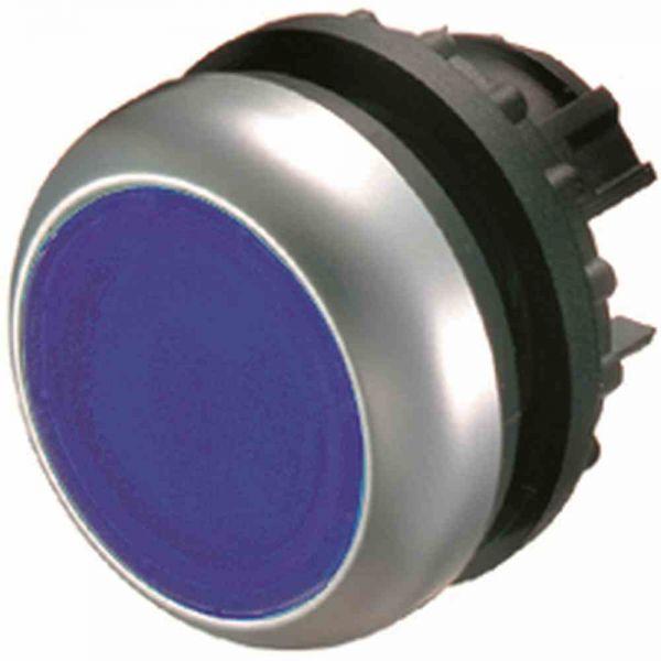 Leuchtdrucktaster Front1f bl beleuchtb Ø22,5mm rnd