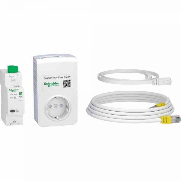 WiserConnectKit PLC-Steck +Hutschienen-PLC-Modul