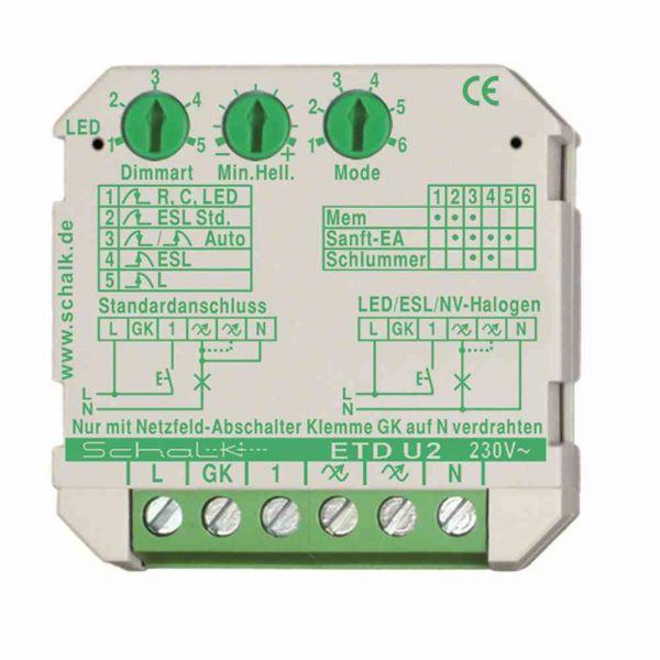 univ. Tastdimmer UP 230V AC 0-500VA auch f. LED