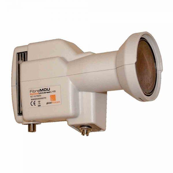 F100 Opt. LNB 40mm FC/PC 32f. 12V Netzteil ü.Koax