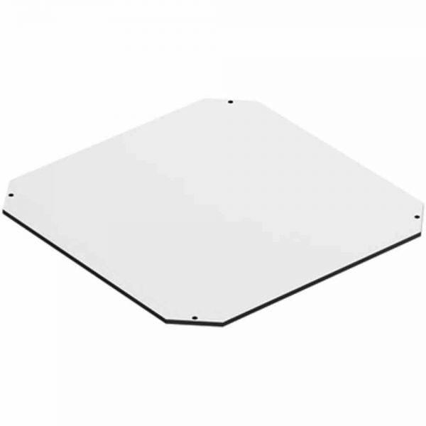 Montageplatte Verteiler Kst unbeh 276x276mm