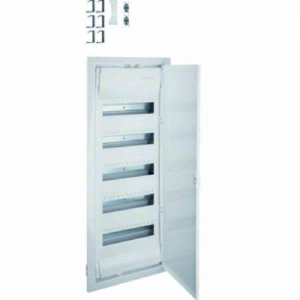 Kleinverteiler UP mit Tür 5x12TE Kst IP30