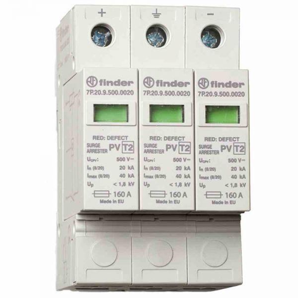 ÜSS-Ableiter Typ2 für PV- Anlagen, bis 1020VDC