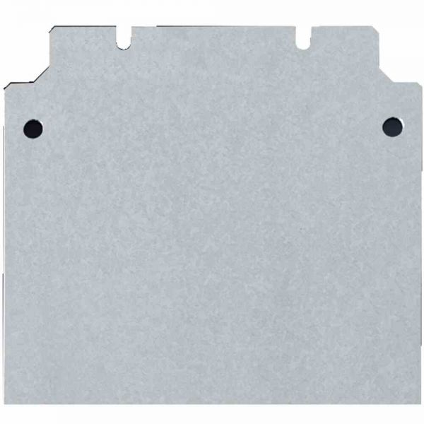 Montageplatte Verteiler ST lack 485x275mm