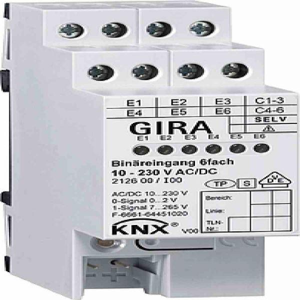 Binäreingang KNX KNX REG REG 4TE LED 6f