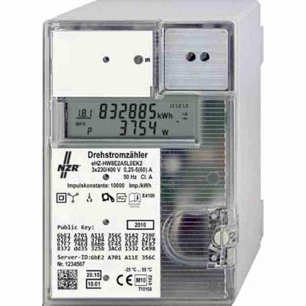 Drehstromzähler 3x60A elektr digi A 5A
