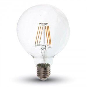 LED Bulb - 6W Filament E27 G95 2700K 4305
