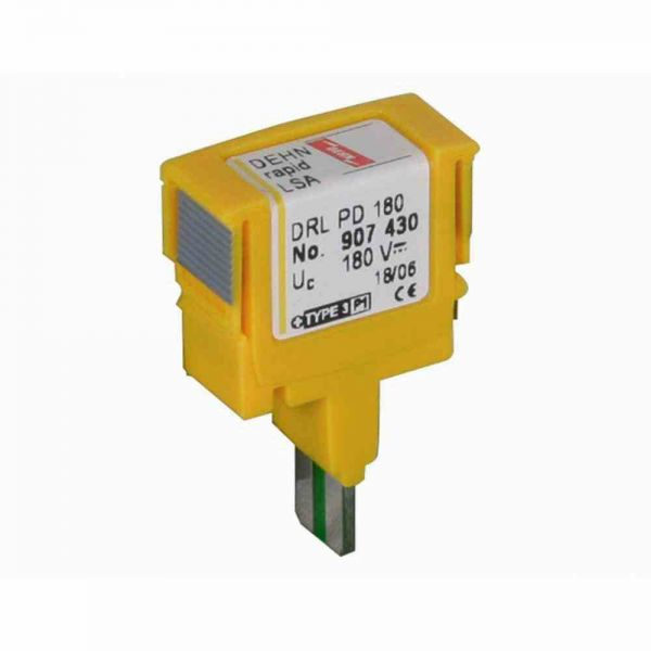 Ableiter Typ3 0-127VAC 0- DEHNrapid 0,1A LSA-Plus