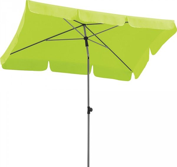 Sonnenschirm Locarno rechteckig 180 x 120 cm Schneider-Schirme apfelgrün