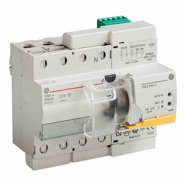 FI-Schutz mit Zusatz 4p 400V 40A 0,03A 6,5TE REG