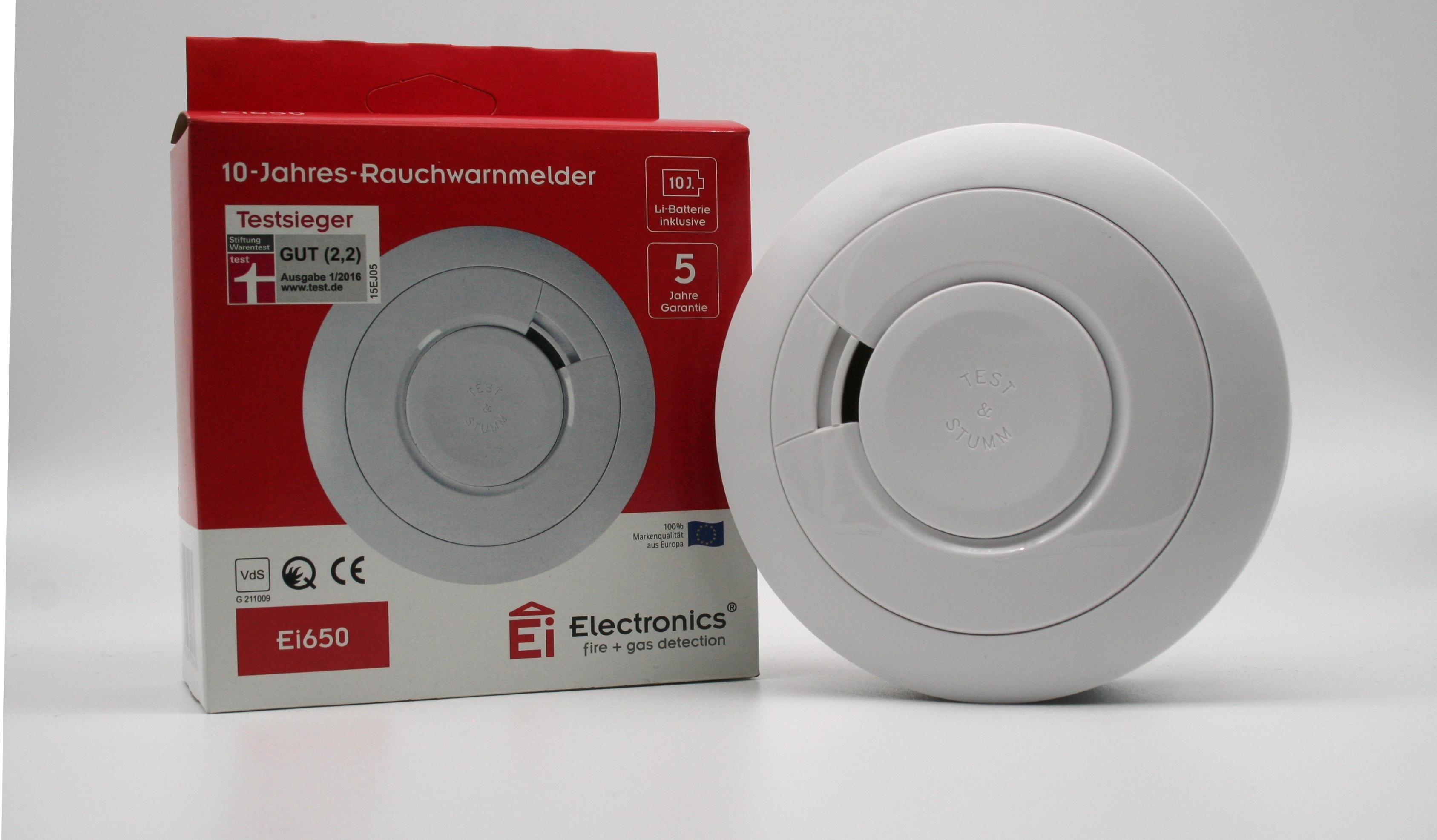 Vorschau Rauchmelder Ei Electronics Ei650 10 Jahres Rauchwarnmelder
