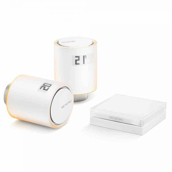 Thermostat Starter-Pack m. 2 Thermostaten, Relais