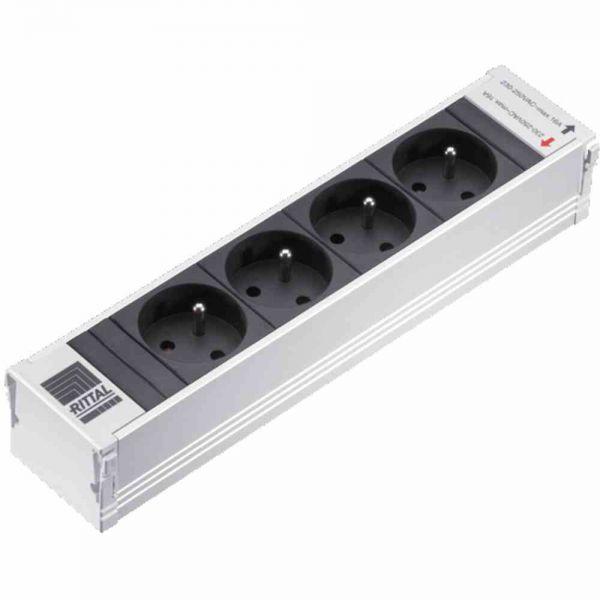 Steckdosenleiste alu IP20 1,5qmm