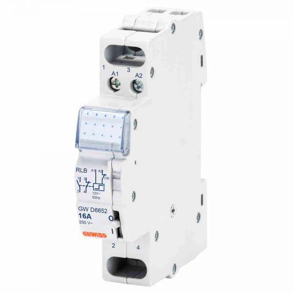 Stromstoßschalter 230VAC Power 1S 1TE 16A 230V