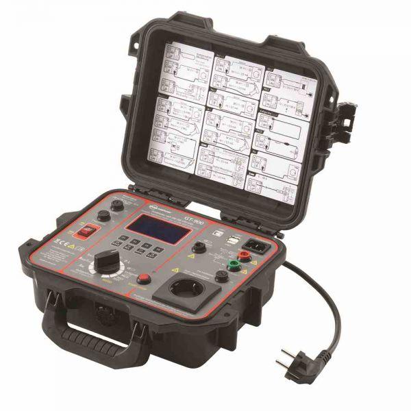 Prüfgerät DIN VDE 0701 graphisch PE-Strom