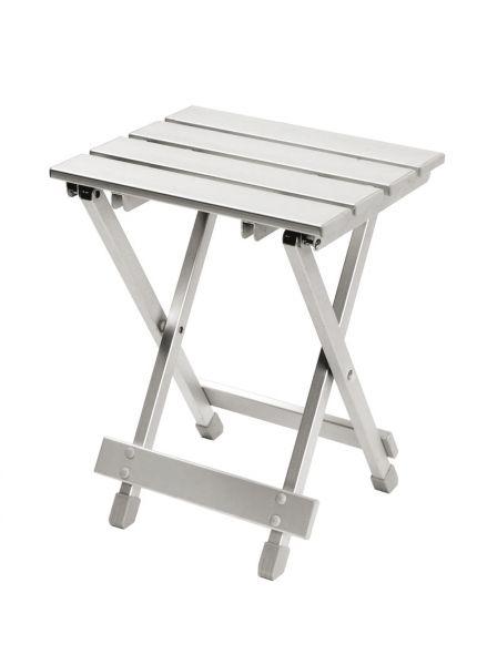 Bo-Camp Hocker/Tablet zusammenklappbar grau 30x 25x 40cm