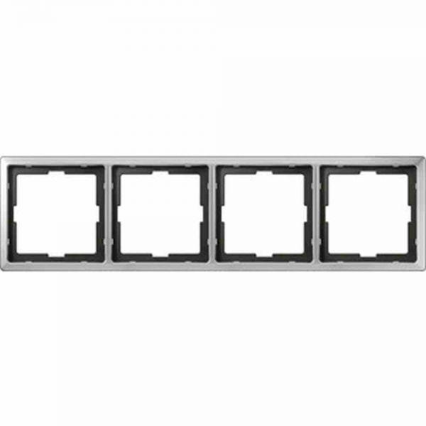 Rahmen 4f edst glz ARTEC Metall f.GEB-K