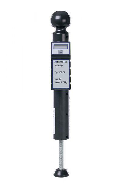 Digitale Stützlastwaage STB150 incl. Dosenlibelle (Schwarz)