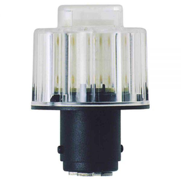 LED-Lampe BA 15d 24V YE