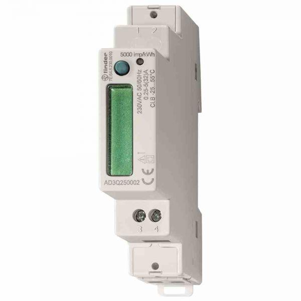 Wechselstromzähler 40A elektr digital geeicht B