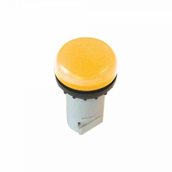 Leuchtmelder Front fl rnd ge Ø22,5mm 1st