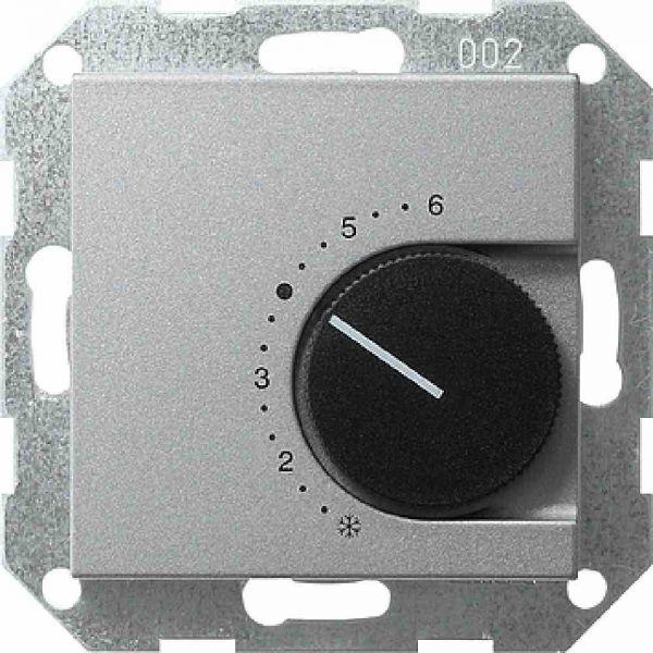 Raumtemperaturregler System 55 alu 1W UP IP20