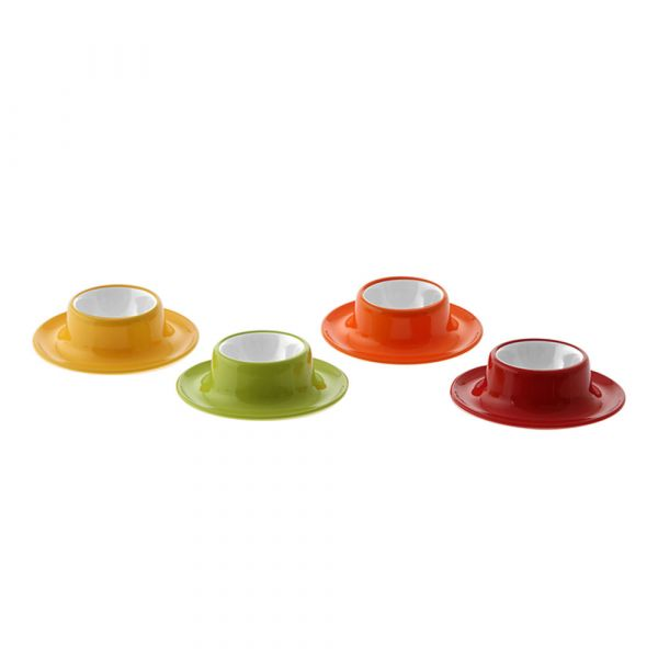 Gimex Eierbecher-Set Rainbow