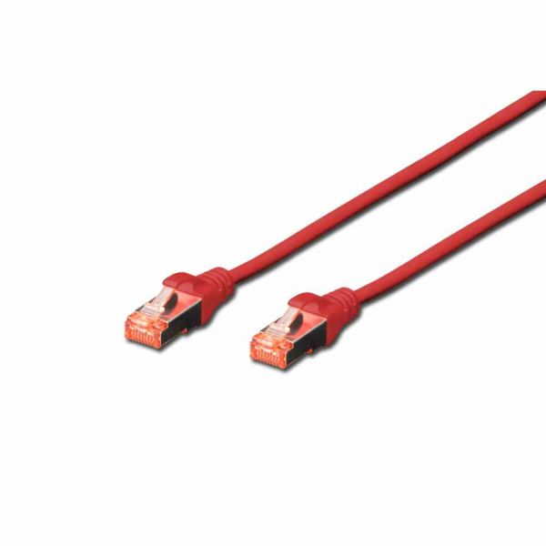 CAT 6 Patchk. rot 5,0m S-FTP, LSOH, AWG 27/7