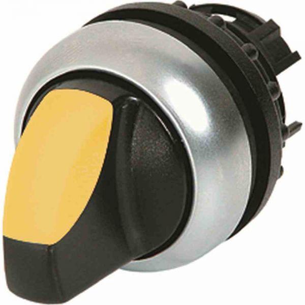 Knebelschalter 3stuf beleuchtb ge rnd Ø22,5mm