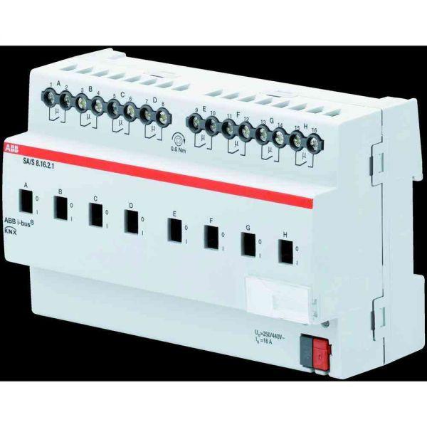 Schaltaktor KNX REG 6TE 8Ausg 16A 3680W