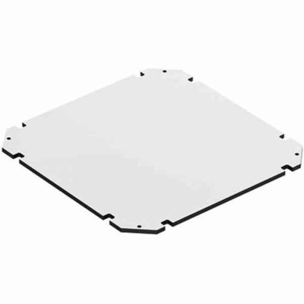 Montageplatte Verteiler Kst unbeh 250x250mm