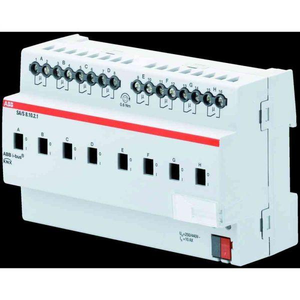 Schaltaktor KNX REG 6TE 8Ausg 10A 2300W