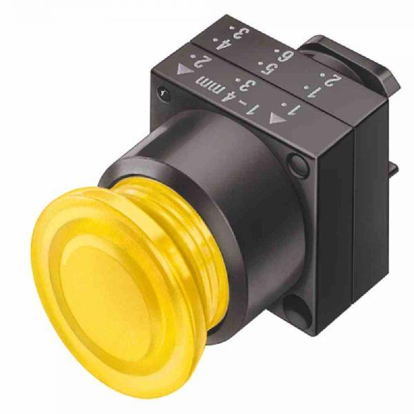 Frontelement für Not-Aus SIGNUM Ø22mm ge rnd IP66