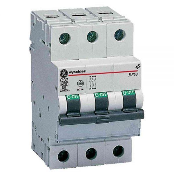 Leitungsschutzschalter B 40A 3p 230V 6kA 3TE AC