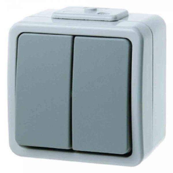 Serienschalter lgr Aquatec IP44 AP IP44 2f