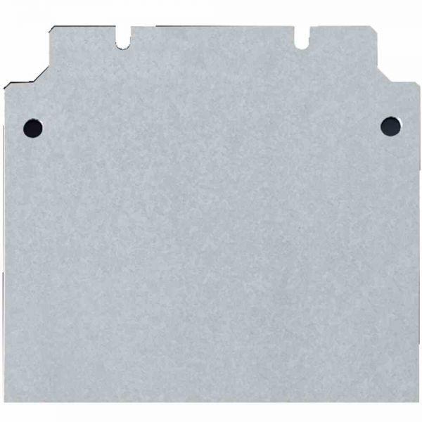 Montageplatte Verteiler ST lack 385x375mm